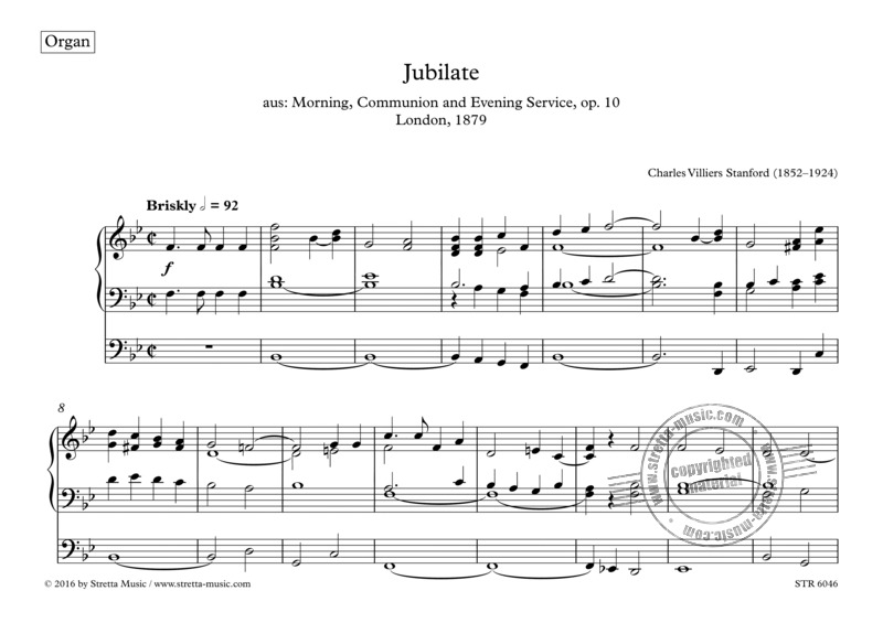 Charles Villiers Stanford: Jubilate (4)