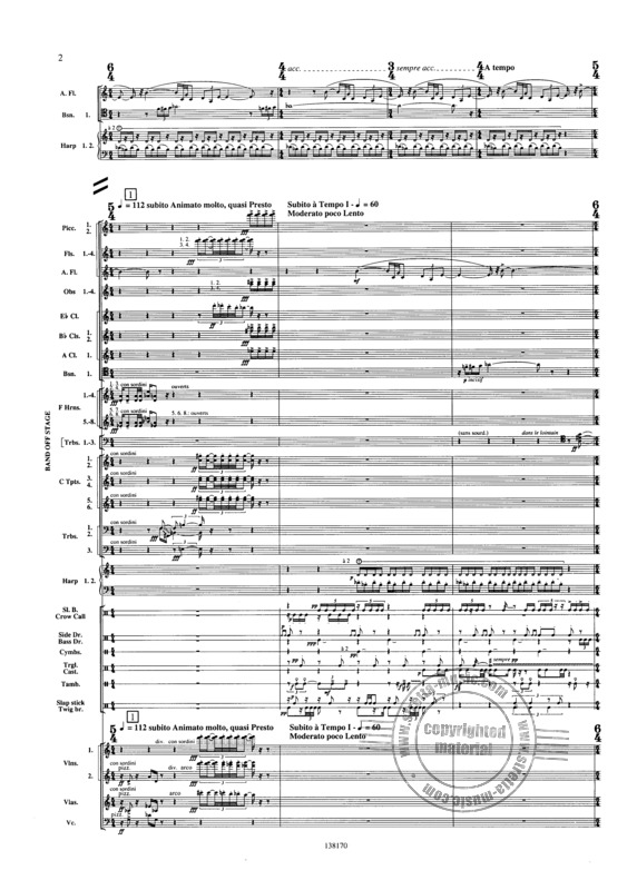 Varese Edgar: Ameriques (1922), For Orchestra (2)