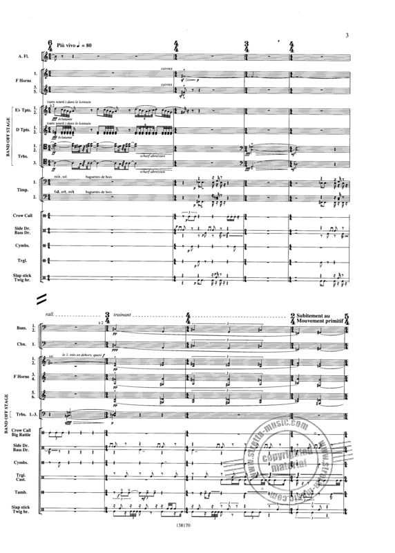 Varese Edgar: Ameriques (1922), For Orchestra (3)