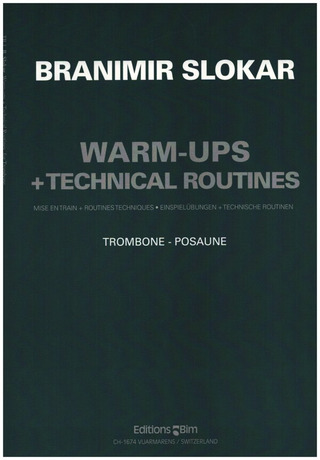 Branimir Slokar: Warm-Ups and Technical Routines