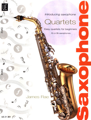 James Rae: Introducing Saxophone – Quartets für Saxophon-Quartett SAT (2006)