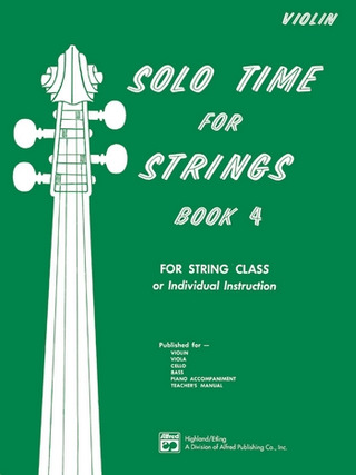 Solo Time For Strings 4 For String Class