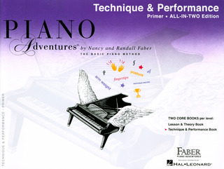 Randall Faber m fl.: Piano Adventures Primer Level – Technique And Performance