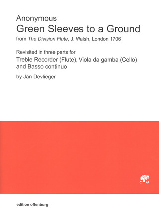 Anonymus: Green Sleeves to a Ground