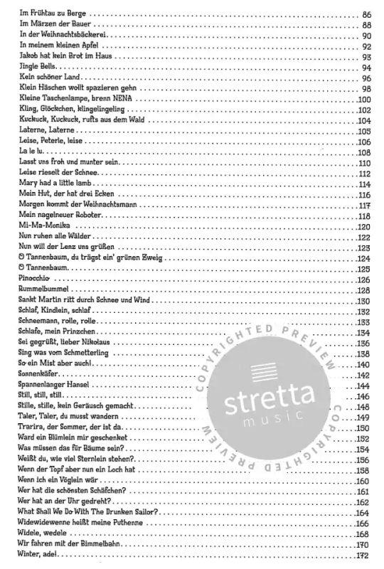 100 Kinderlieder 2 | im Stretta Noten Shop kaufen