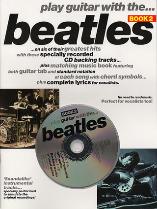 The Beatles: Play Guitar With The Beatles 2 Book/Cd