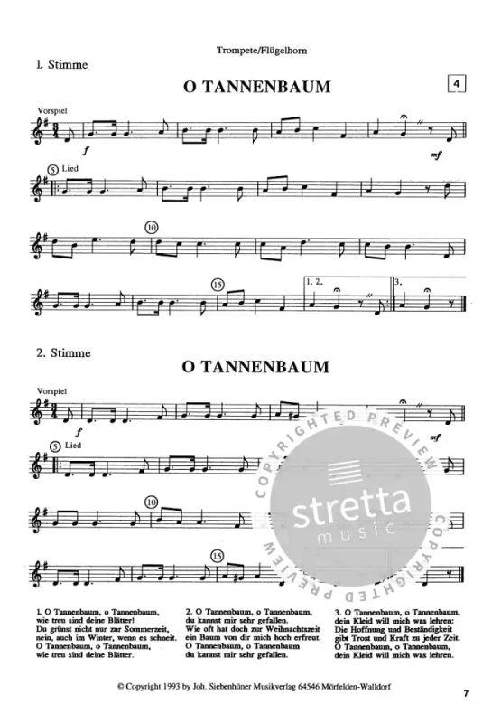 O Tannenbaum Lied.Weihnachtslieder Buy Now In Stretta Sheet Music Shop