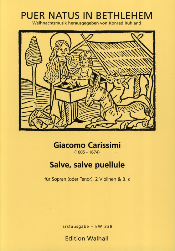 Giacomo Carissimi: Salve Salve Puellule - Weihnachtsarie