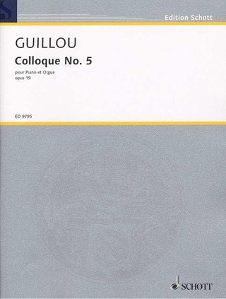 Jean Guillou: Colloque No. 5 opus 19 (1969)