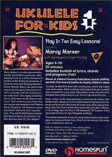 Marxer Marcy: Ukulele For Kids Lesson 1 (Marxer) Dvd