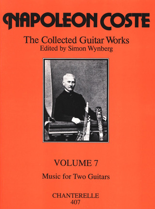 Napoléon Coste: Guitar Works 7