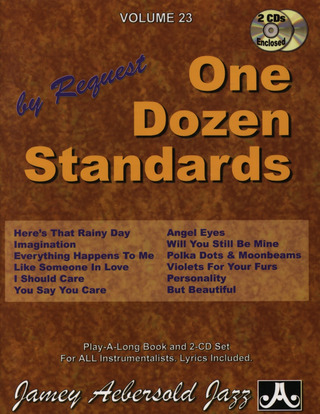 Jamey Aebersold: One Dozen Standards