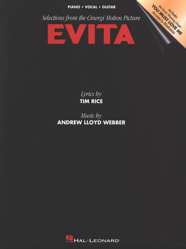 Andrew Lloyd Webber: Evita Music From The Motion Picture Pvg
