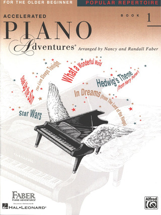 Accelerated Piano Adventures 1 – Popular Repertoire