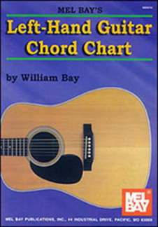 William Bay: Left-Hand Guitar Chord Chart