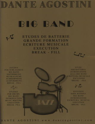 Dante Agostini: Big Band - Etudes De Batterie