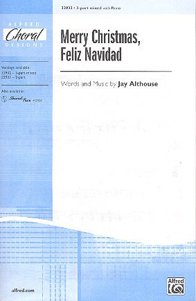 Jay Althouse: Merry Christmas Feliz Navidad