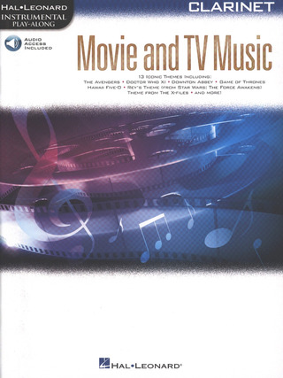 Movie and TV Music: Clarinet