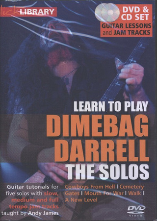 Wolfgang Amadeus Mozart: Lick Library - Learn To Play Dimebag Darrell - The Solos