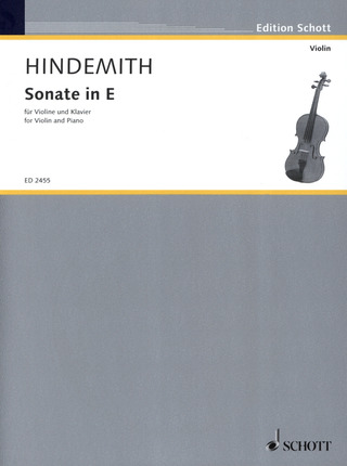Paul Hindemith: Sonate in E