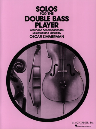 Zimmerman Oscar: Solos For The Double Bass Player (Zimmerman) Db/Pf (Ed2657)