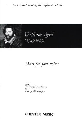 William Byrd: Mass for 4 Voices (WASHINGTON) SATB (L) V/S