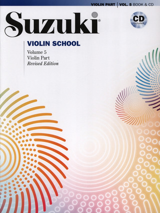 Shin'ichi Suzuki: Violin School 5 (Revised Edition)