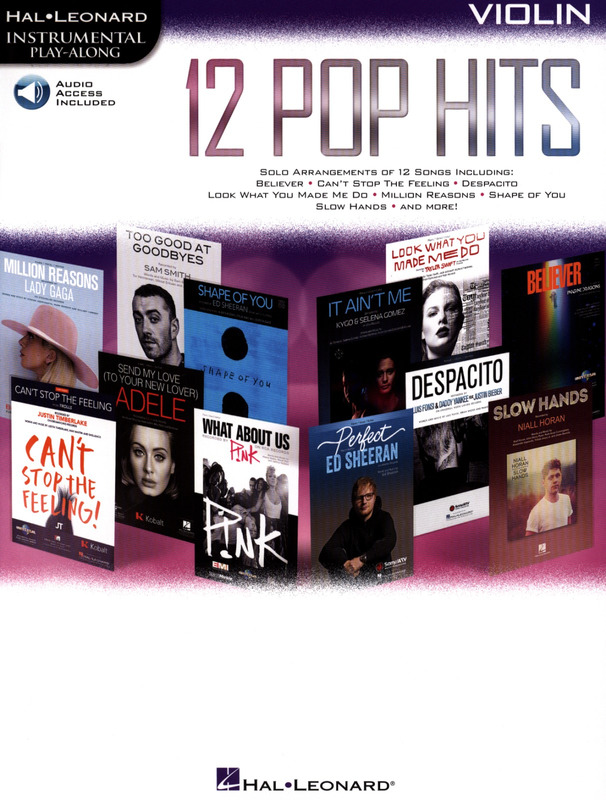 12 Pop Hits (Violin)