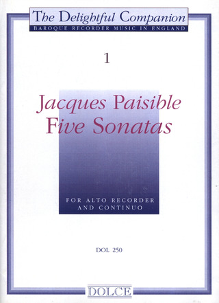 Jacques Paisible: Five Sonatas 1