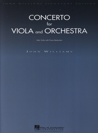 John Williams: Concerto For Viola And Orchestra