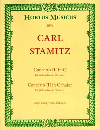 Carl Stamitz: Concerto III in C major
