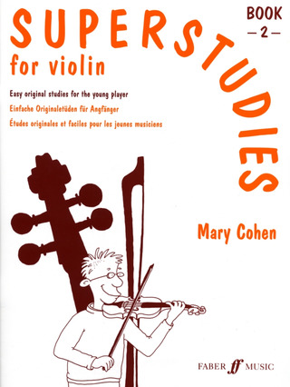 Mary Cohen: Superstudies Book 2 Violin (L)