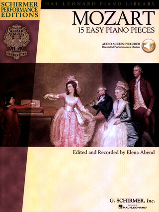 Wolfgang Amadeus Mozart: 15 Easy Piano Pieces