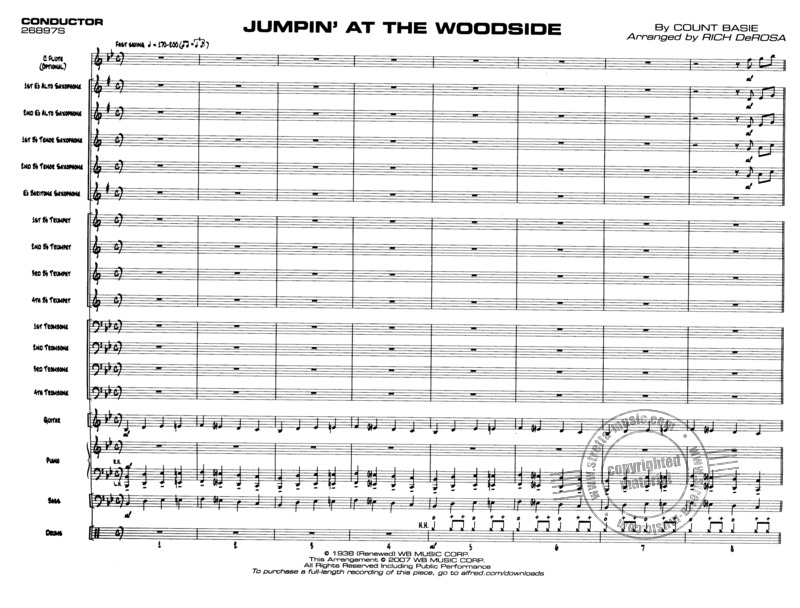 Basie Count: Jumpin' At The Woodside (1)