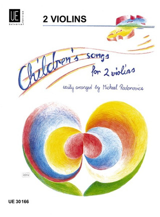 Michael Radanovics: Children's Songs für 2 Violinen