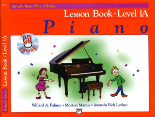 Amanda Vick Lethco y otros.: Alfred's Basic Piano Library – Lesson Book 1A