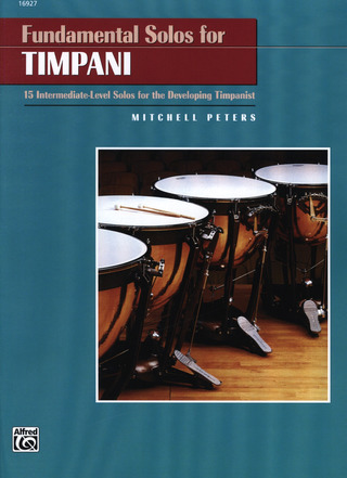 Mitchell Peters: Fundamental Solos For Timpani