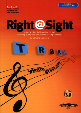 Caroline Lumsden: Right@Sight: Violin 1