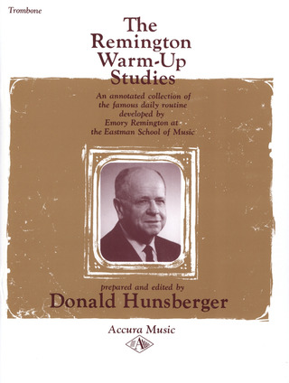 Hunsberger D.: Remington Warm Up Studies