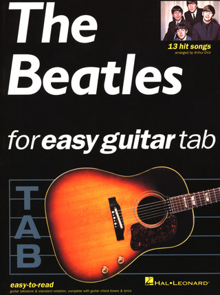 The Beatles: The Beatles for easy guitar