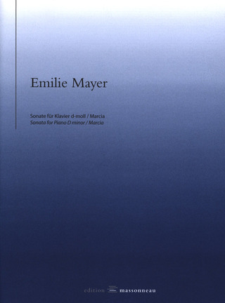 Emilie Mayer: Sonate d-moll