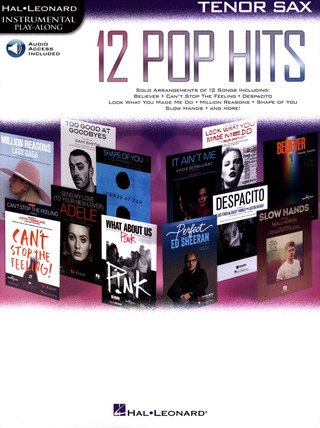 12 Pop Hits (Tenorsaxophon)