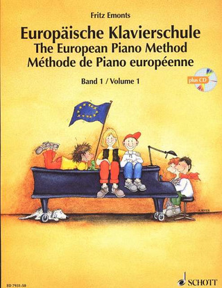 Fritz Emonts: The European Piano Method vol.1