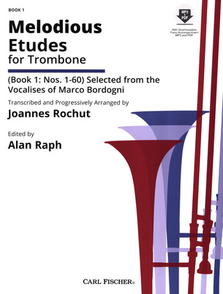 Melodious Etudes for Trombone 1