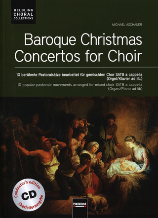 Baroque Christmas Concertos for Choir