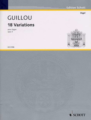 Jean Guillou: 18 Variations op. 3 (1956)