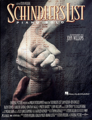 John Williams: Schindler's List Piano Solos Album