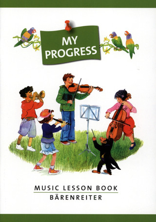 My Progress. Music Lesson Book