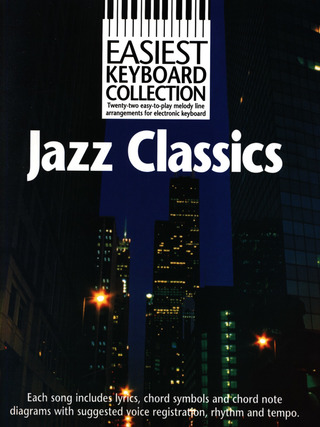 Easiest Keyboard Collection Jazz Classics MLC