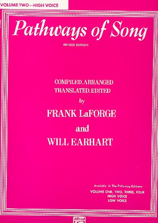 Laforge Frank + Earhart Will: Pathways Of Song 2